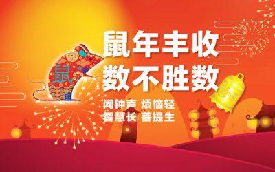 Chinese New Year 2020 鼠年丰收 数不胜数