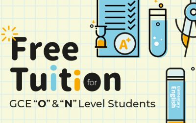 "Free Tuition for GCE ""O"" & ""N"" Level Students"