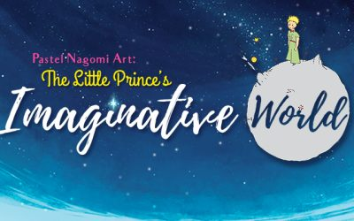 Pastel Nagomi Art: The Little Prince's Imaginative World