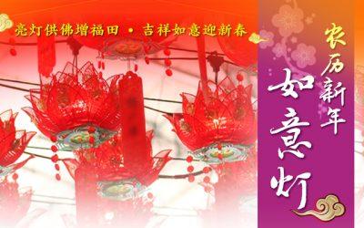 农历新年如意灯 Lunar New Year Wish-fulfilling Lanterns