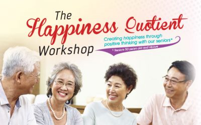 The Happiness Quotient Workshop (*Seniors 50 years old and above)