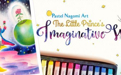 Pastel Nagomi Art: The Little Prince's Imaginative World