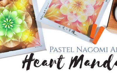 Pastel Nagomi Art: Heart Mandala