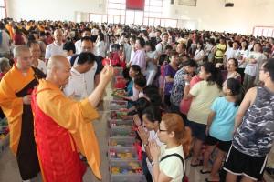 Alms Offering to the Sangha | 托钵暨供僧法会